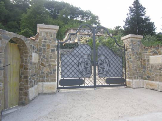 Gate of Villa