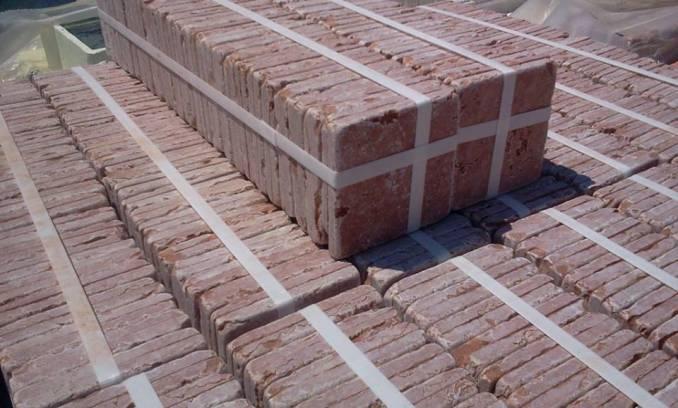 vendita piastrelle cm 10x10 rosso verona | pavimenti e mosaici ... - Mattonelle 10x10 Cucina In Muratura