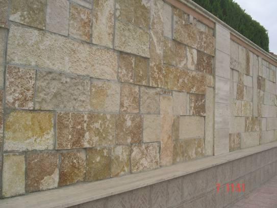 Rivestimento muro interno con pietra di trani sogno - Rivestimento muro interno ...