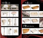 Furniture brochure by Rustici del Trusco.