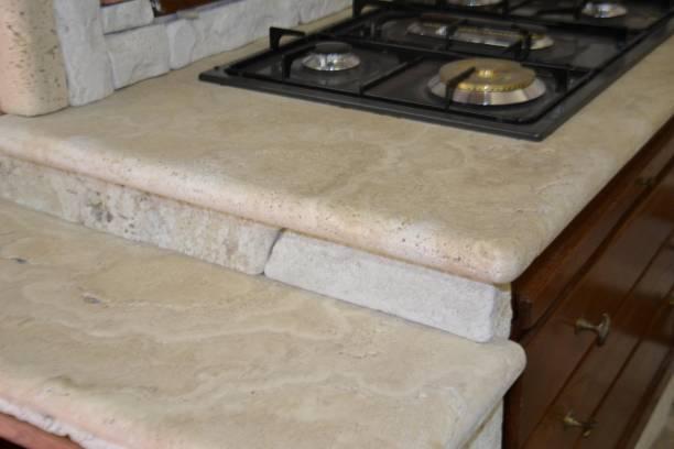 Vendita cucina vecchio granaio cucine in muratura roma - Top cucina in marmo prezzi ...